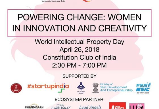 World Intellectual Property DAY – Women In Innovation & Creativity – 26 April 2018