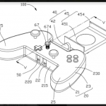 Oppo Patents Mobile Gaming Controller with Built-in Earphones Storage